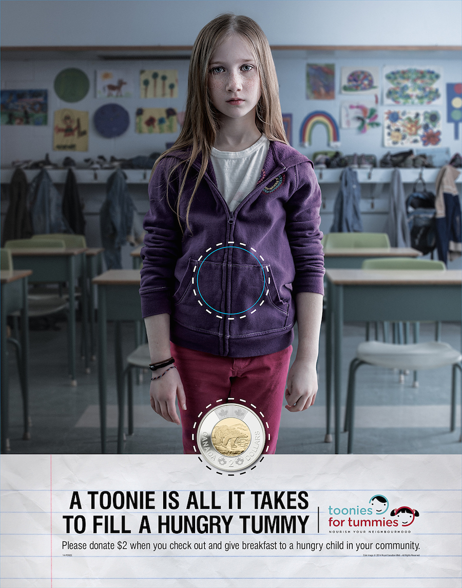 Toonies For Tummies Campaign
