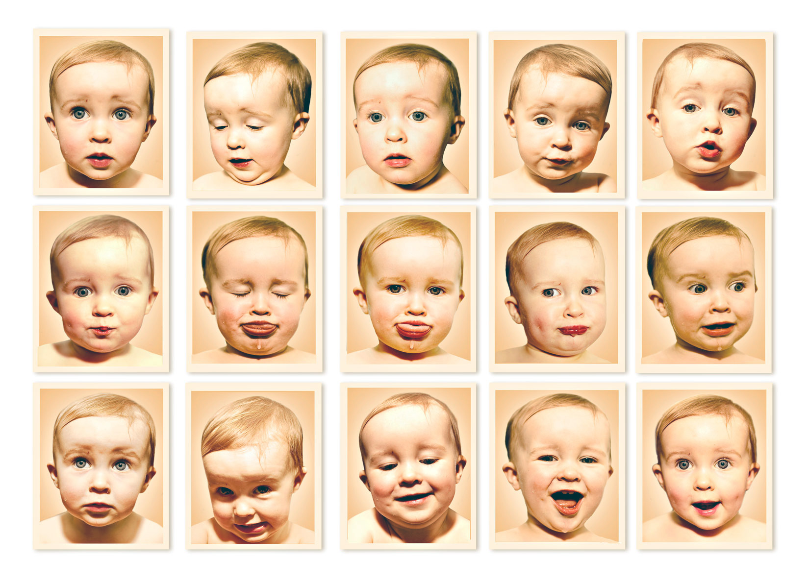 Faces of Baby Cate